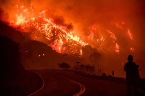 deadly  destructive winter wildfires