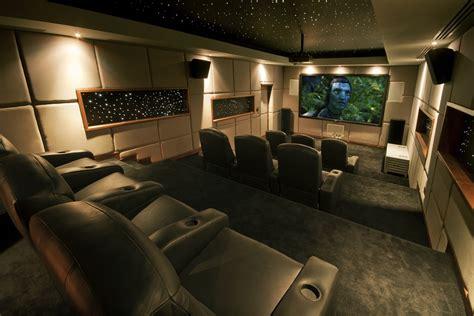 interior design inspiration cinema rooms luxury