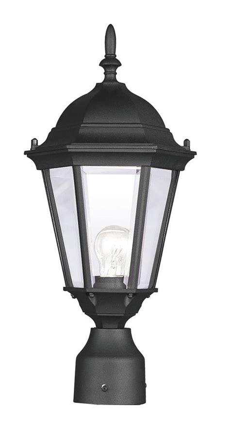 Hamilton Lighting Fixtures Hamilton Black Livex Outdoor Post Lighting Fixture L Sale L 7558 04 Ebay