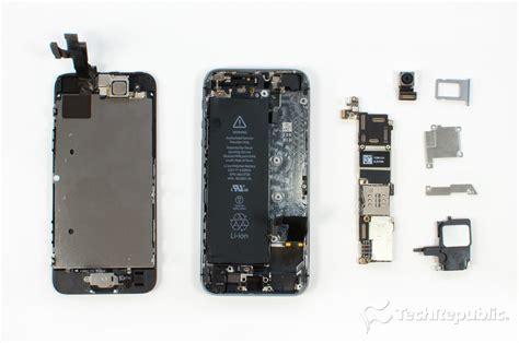 cracking open the iphone 5s techrepublic