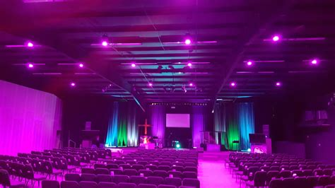 light and church oklahoma s vintage church upgrades lighting with elation
