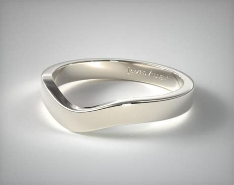 wedding rings matching bands  white gold mm