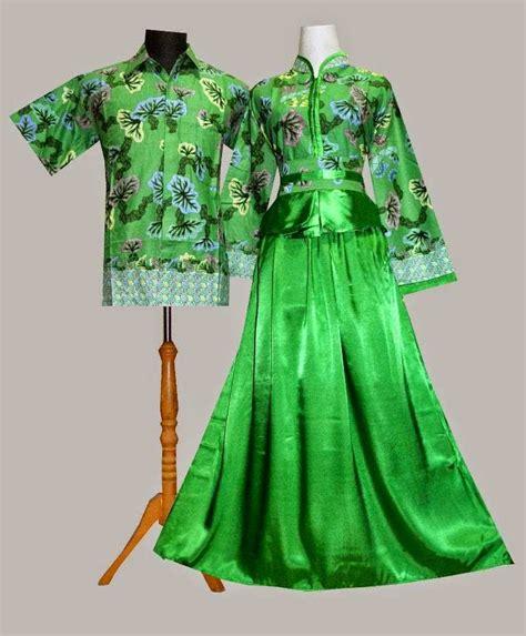desain baju hijab keren grosir baju batik sarimbit hijau toscha model gamis