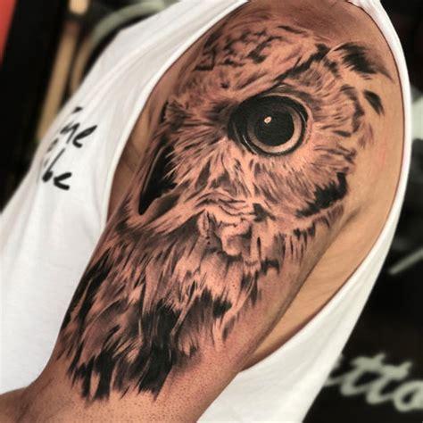 owl tattoos  men cool designs ideas  guide