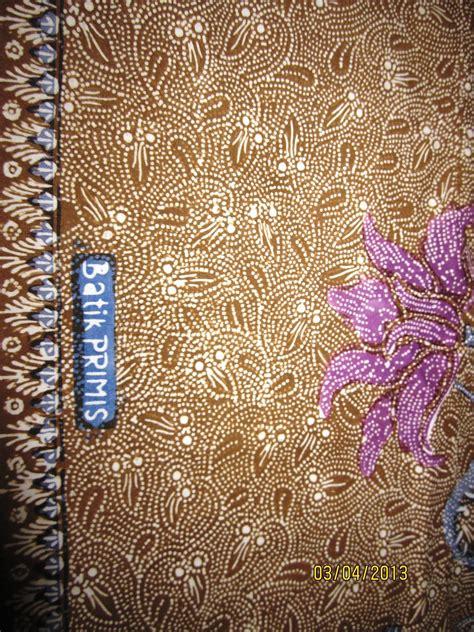 Kain Batik Primis 04 persenengan kain panjang batik quot primis quot
