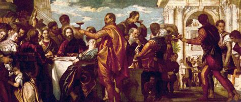 Wedding Of Cana Children S Version by Paulo Veronese