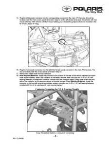 polaris sportsman 550 winch car interior design