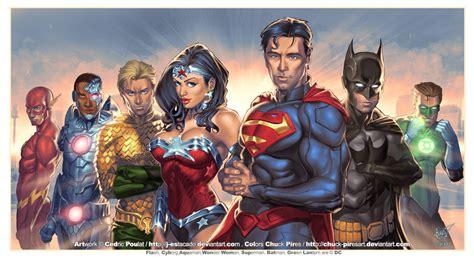 justice league the art 1785656813 justice league colored by j estacado on