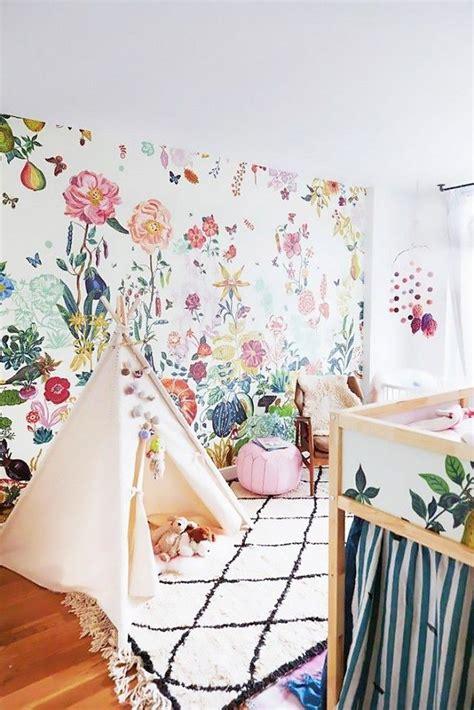 wallpaper for kids bedroom bedroom concept beautiful flower wallpaper for kids