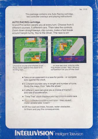 Intel Auto Inf by Retro Guide Intel Auto Racing