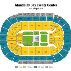 Mandalay Bay Events Center Seating Chart » Home Design 2017