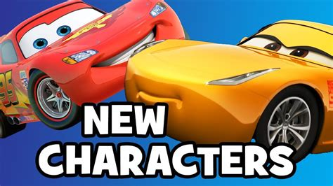 cars characters yellow cars 3 characters cast breakdown