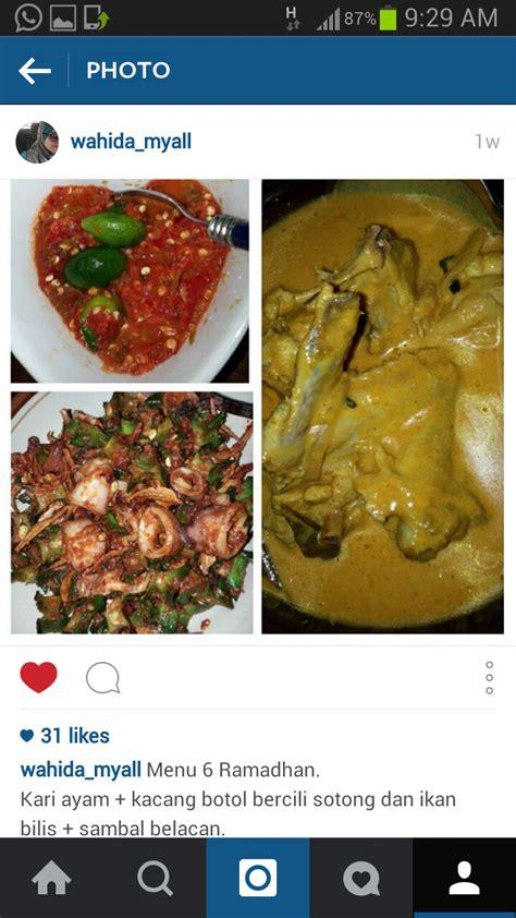 Simple Ramadhan my all menu simple berbuka puasa 1 10 ramadhan