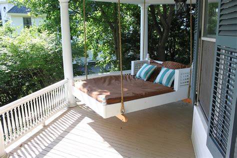diy porch swing bed everything about outdoor bed swing