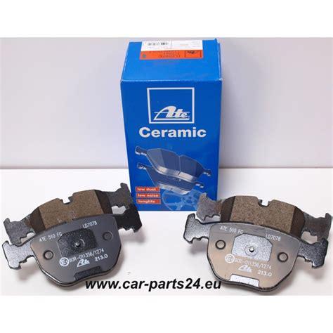 Brake Pad Frt Bmw X5 E53 E39 530i ate ceramic front brake pads for bmw e39 324 348mm e38 x5 e53 332mm x3 89 99