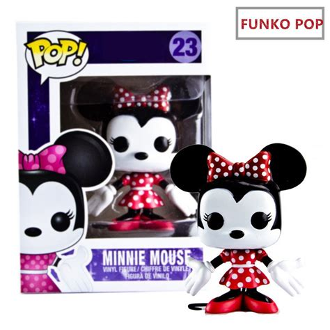 Funko Pop Mickey Mouse 2015 new genuine funko pop mickey mouse pink minnie pvc figure kid