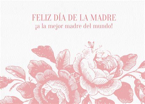 tarjeta de invitacion para el dia de los jardines tarjetas para felicitar el d 237 a de la madre invitaenunclic