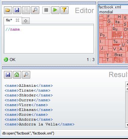 xml tutorial database basex tutorial for using an xml native database
