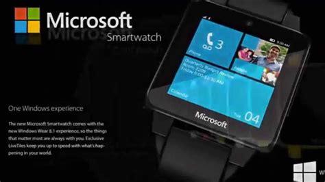 Smartwatch Windows microsoft smartwatch 2015 with windows 8 1