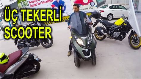 piaggio mp  cc scooter test sueruesue uec tekerlekli