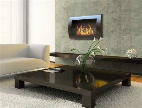 Chesea Wall Mount Bio Ethanol Fireplace By Anywhere Indoor Ethanol Fireplace