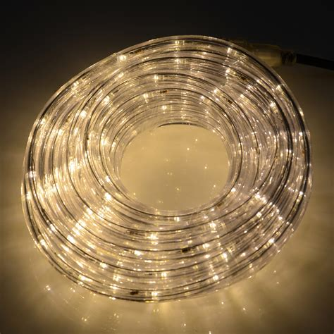 8m connectable led rope light power cable indoor or