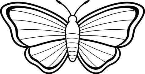 Butterfly Coloring Pages For Toddlers | free printable butterfly coloring pages for kids