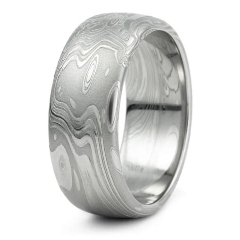 15 best collection of damascus steel s wedding bands