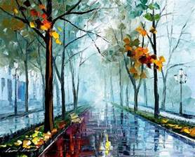 Breathtaking Paintings Using Only A Palette Knife
