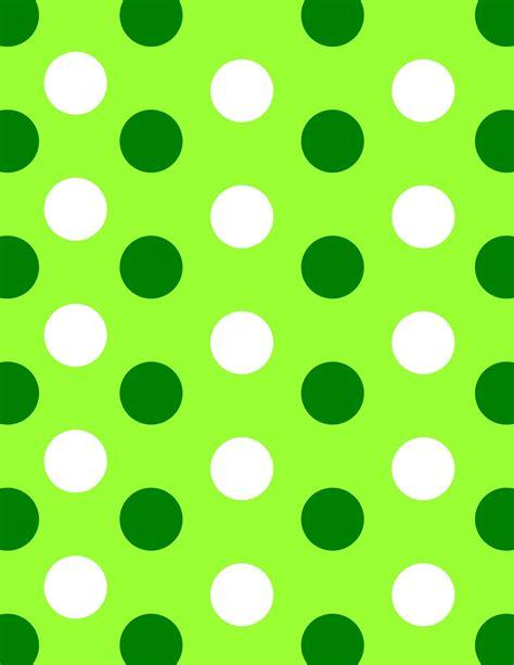 green polka dot wallpaper green polka dot border clipart best