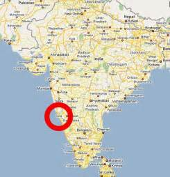 Goa India Map by Goa Maps Ayurveda Treatment In Goa