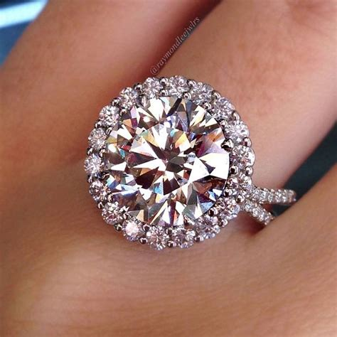 Ruby 2 5crt top 10 halo engagement rings raymond jewelers
