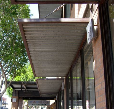 steel awning corrugated metal awning book of stefanie