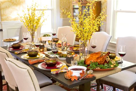 decoration table decorating table for thanksgiving dinner indelink com