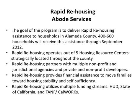rapid re housing dc 5 3 rapid re housing for single adults foster