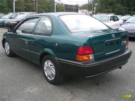 Toyota Tercel 97 1997 Meadow Green Pearl Metallic Toyota Tercel Ce Coupe