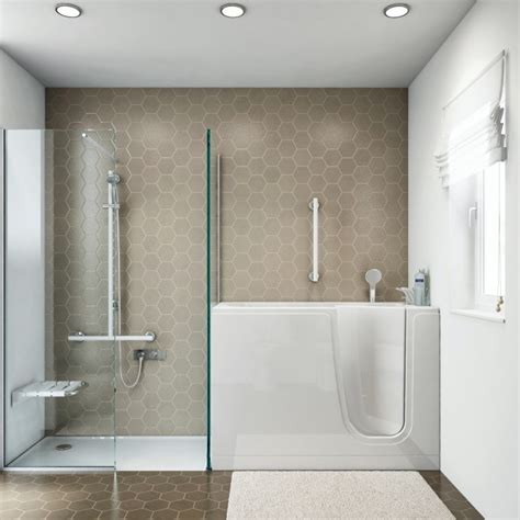vasche da bagno con doccia vasca con sportello a goman