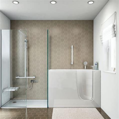 vasca e doccia vasca con sportello a goman