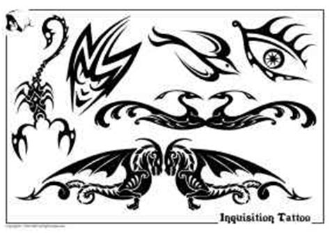 tribal black amp white flash design sheets 2