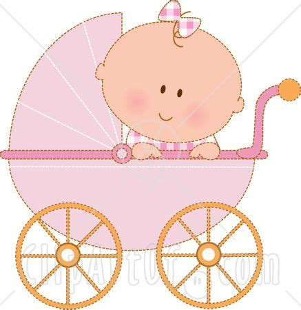 Baby Shower Carriage by Baby Carriage Clipart Item 1 Vector Magz Free