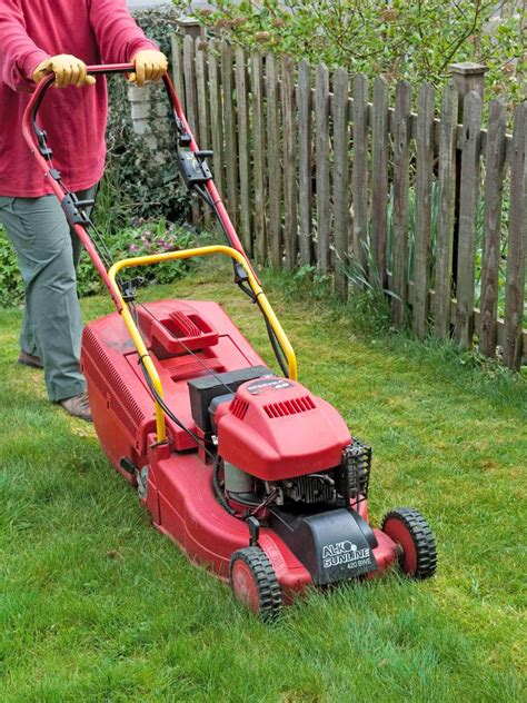Landscaper Lawn Mower Types Of Lawn Care Tools Hgtv