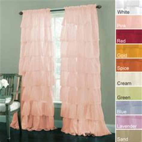 peach ruffle curtains nursery curtains on pinterest window panels coral