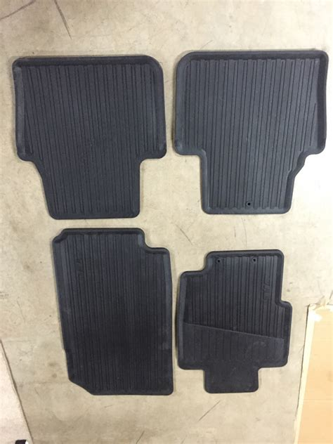sold all weather floor mats 04 08 tl new acurazine