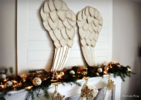 angel decorations for home decorating for christmas with a tight budget creatively