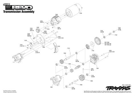 traxxas parts diagram traxxas 116 e revo parts diagram traxxas bandit parts
