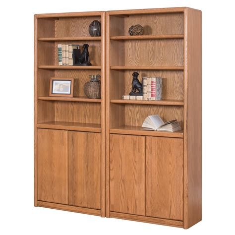 martin home furnishings contemporary wall bookcase with