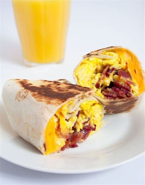 Todays Special Chicken And Goat Cheese Burritos by Bacon Egg Cheese Breakfast Wrap Recipe Bacon Bacon