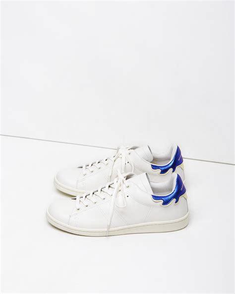 marant bart sneaker 201 toile marant bart sneaker in white lyst