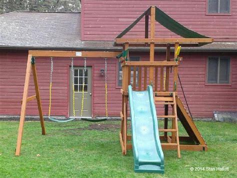 gorilla outing iii swing set gorilla swing set installation ma ct ri nh me