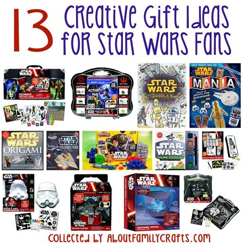 13 creative gift ideas for star wars fans about family